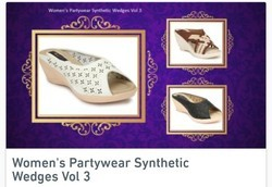 Women's Party Wear Synthetic Wedges