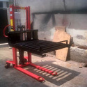 Hand Hydraulic Manual Stacker with Roller Platform