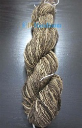 Raw Tussar Silk Hand Spinning Yarn