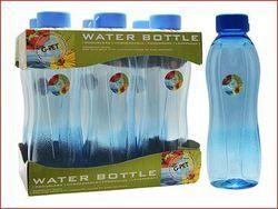 1 Liter PET Iris Blue Tray With Bottle