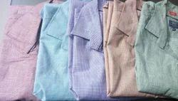 Regular Fit Pure Cotton Men''S Boy''S Shirts