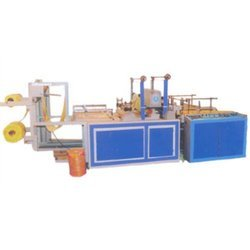 double decker cutting sealing machine for printed bag