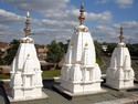 Fiberglass Temple Domes
