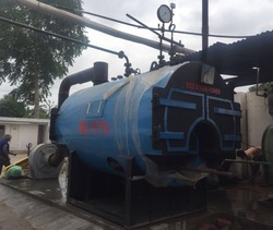Wood Fire IBR Steam Boiler