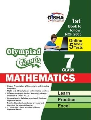 Olympiad Champs Mathematics Class 7 with 5 Mock Online Olymp in New