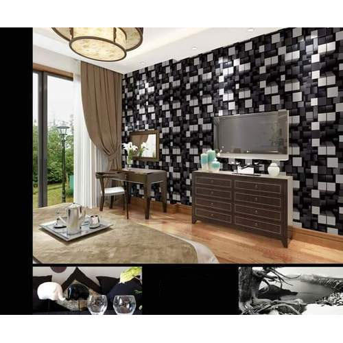 Living Room 3D Designer Wallpaper at Rs 3500 pieces Parvati