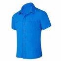 Cotton Men Half Sleeve Shirt