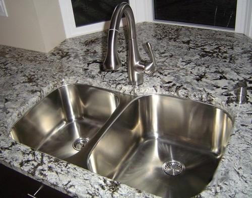 Double Ceramics Classic Undermount Kitchen Sink