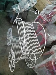 Flower Pot Stand Trolley
