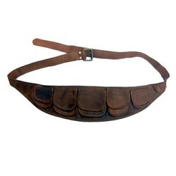 Genuine Leather Traveling Waist Pack WAIST103