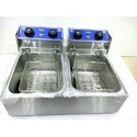 Solutions Packaging Double Fryer, For Restaurant, Size: 590 X 440 X 285mm Net Weight