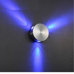 LED Wall Mounted 3 Way Decorative Wall Light, 5 -10 W, For Home, Hotel