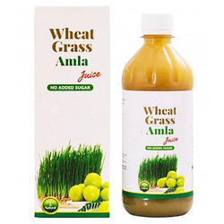 Wheat Grass Amla Herbal Juice