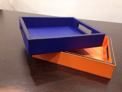 Amenity Tray with Cut Handle