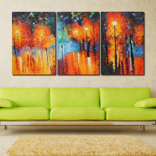 Multiple Frames Modern Abstract Painting At Rs 9900 Set Abstract Painting Id 12832921988