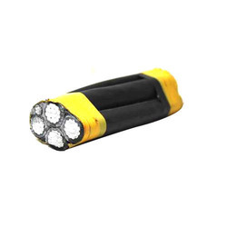 Aluminium Yellow,Black Aerial Bunched Cable