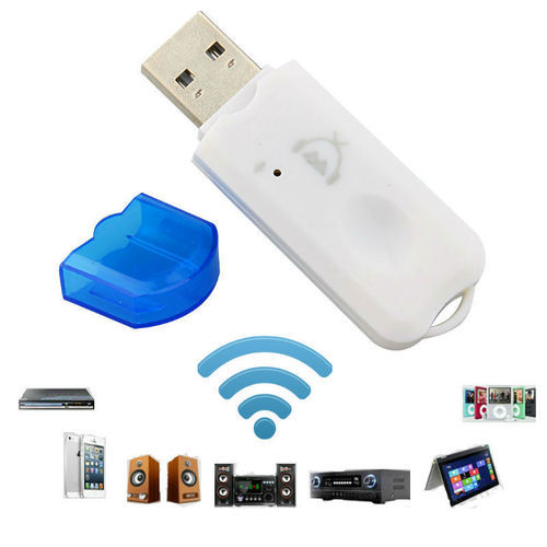 USB Bluetooth Stereo Music Audio Receiver Adapter Dongle