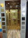 Golden Passenger Lift
