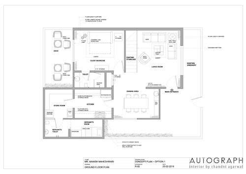 Interior Design Drawing Services