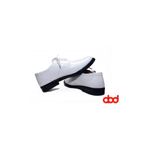 Formal Shoes - Indian Navy White Formal