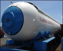 Propane Transportation Tanks