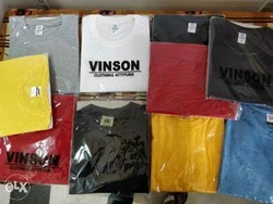 White , Red Cotton, Hosiery Plain T Shirts, Size: Small, Medium, Large, Extra Large