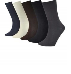 Cotton, Lycra/Spandex Unisex Health Socks, Size: Free