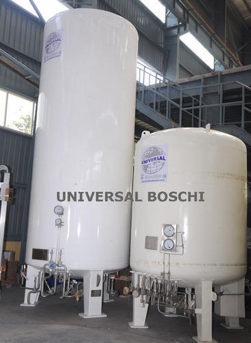 Liquid Tanks - Liquid Oxygen Tank Manufacturer from New Delhi