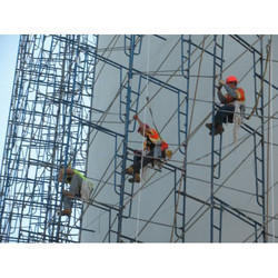 Mild Steel Construction Scaffolding Rental Services, Application/Usage:  Industrial, | ID: 13754662088