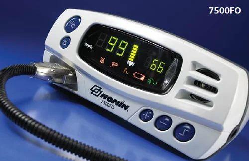70% - 100% 18-300BPM MRI Compatible Pulse Oximeter, Model: 7500FO