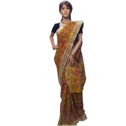 Pure Kalamkari Cotton Saree