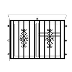 Stainless Steel Window Grill At Rs 70 Kilogram Ss Window Grills
