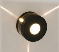 Pasolite 4W Wall Round Three Way Single Colour LED Light