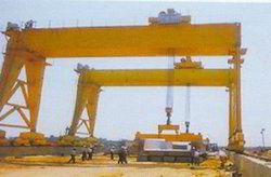 Single Girder Box Type Goliath Cranes