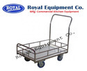 Trolley with Grill Platform
