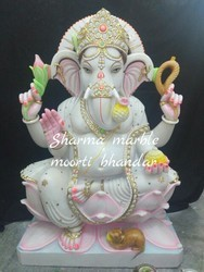 Makrana Marble Ganesha Moorti
