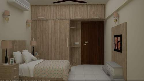 Bedroom Furniture Almirah residential furniture - wooden wall almirah manufacturer from gurgaon