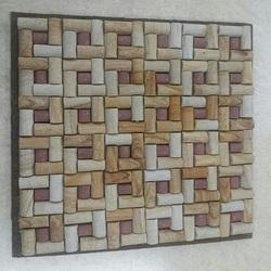 Teak Red Mosaic Tile