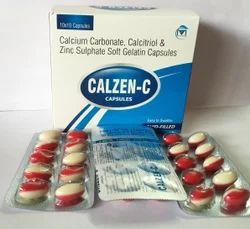 Calcium Carbonate Calcitriol Soft Gelatin Capsules
