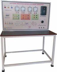 Slip Ring Induction Motor-DC Shunt Generator Control Panel