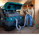 Tennant S20 Compact Mid-Size Rider Sweeper