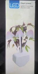 Chrome Mushroom LED Lamp, Voltage: 220 V, 5 Watt