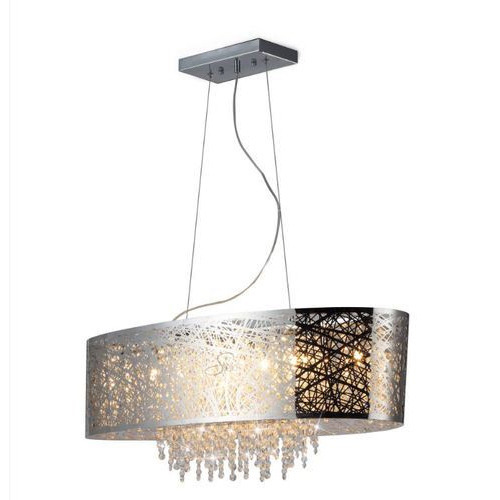 Modern chandelier hanging jhumar pendant chandelier skyshine modern chandelier mozeypictures Image collections