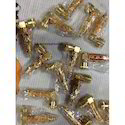 Gold Metal Smoking Pipes