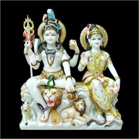 Marble Shiva Statue Manufacturers Marble Gori Shankar