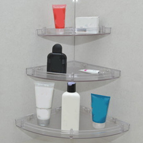 Unbreakable Corner Shelf Set Corner Shelves Anand Bath Industries Interesting Corner Shelves For Bathrooms