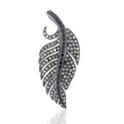 Winge Pave Diamond Pendants