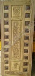 Teakwood Single Door, For Home, 7 X 3 Ft