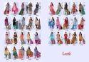 Ladies Unstitched Cotton Suits