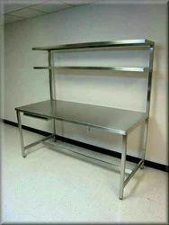 Steel Table, Size (Feet): 482434